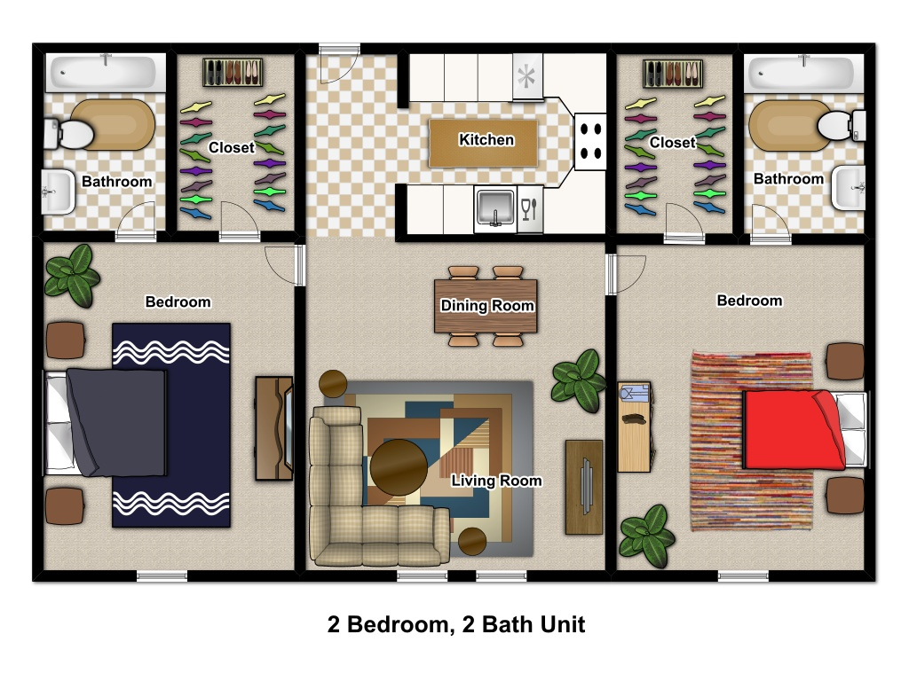 2 Bedroom Lofts Houston
